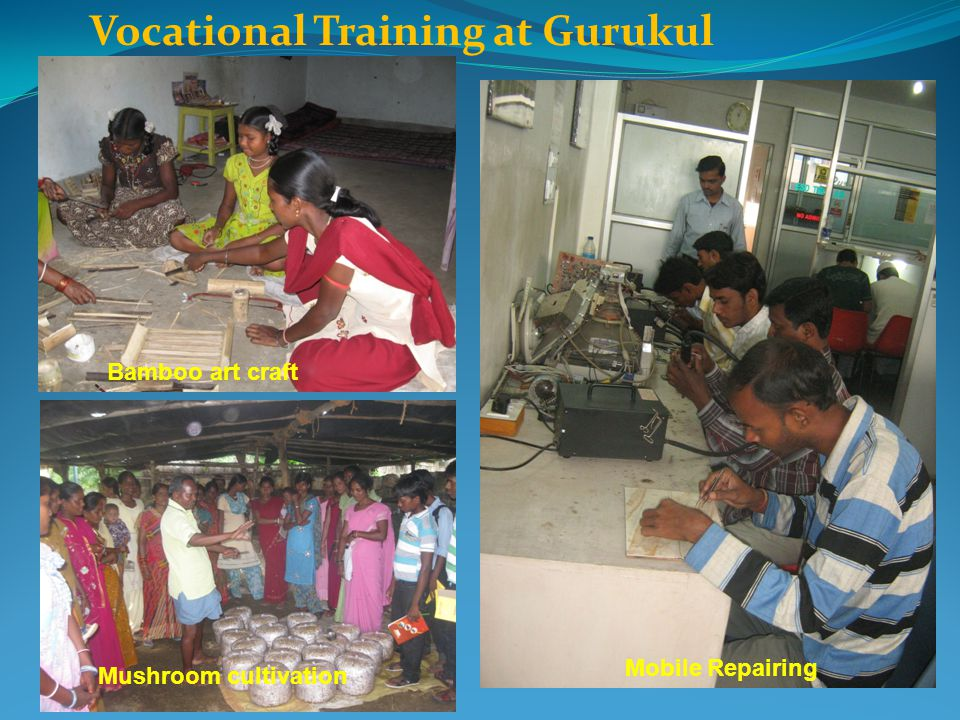 Vocational Training at Gurukul