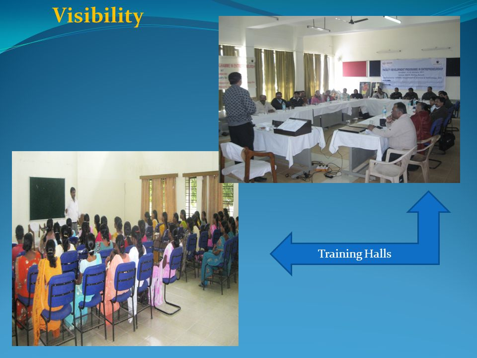 Visibility Training Halls