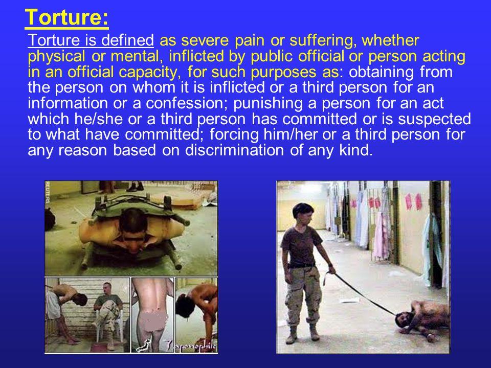 Torture: