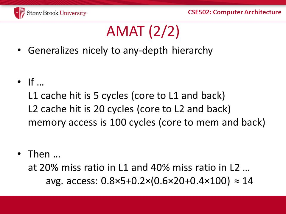 AMAT (2/2) Generalizes nicely to any-depth hierarchy