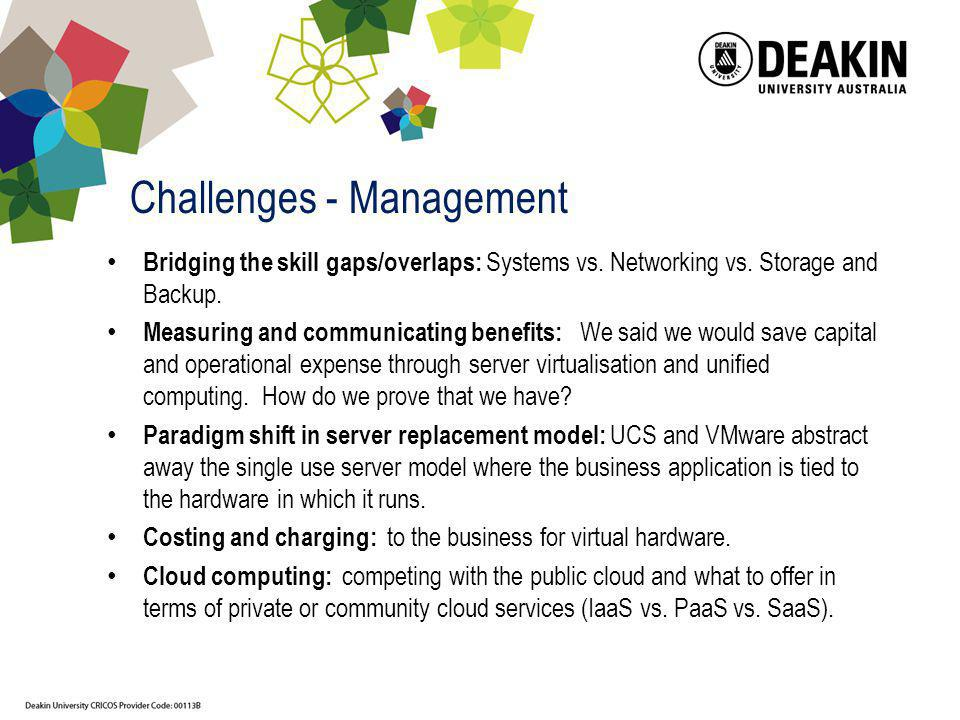 Challenges - Management