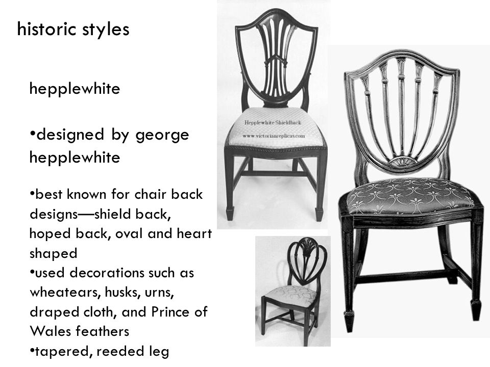 historic styles hepplewhite designed by george hepplewhite