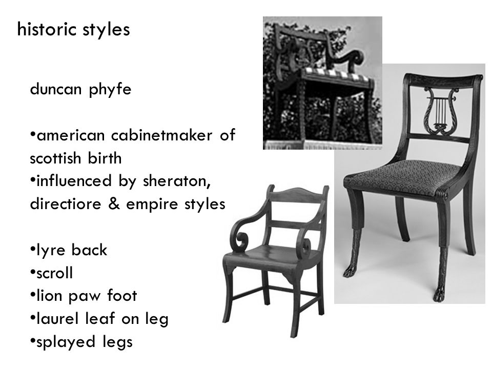 historic styles duncan phyfe american cabinetmaker of scottish birth