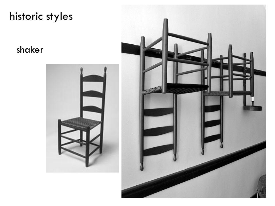 historic styles shaker
