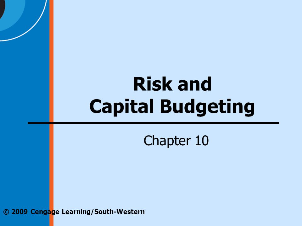 Risk and Capital Budgeting