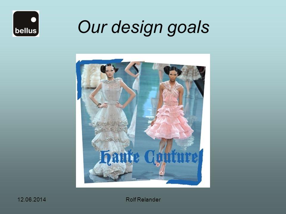 Our design goals 1.04.2017 Rolf Relander