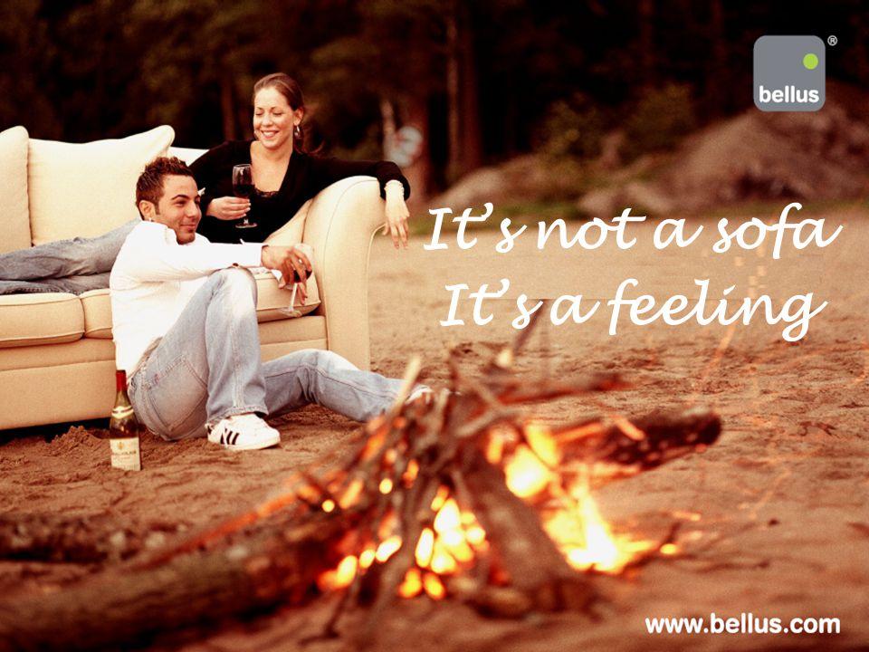 It's not a sofa It's a feeling