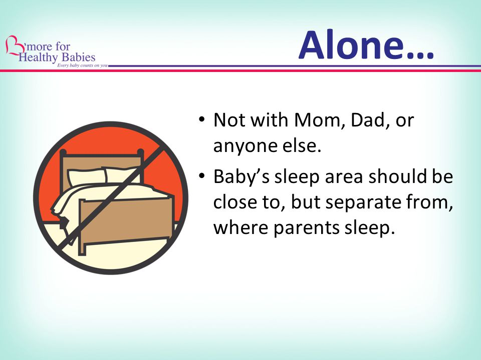 Alone… Not with Mom, Dad, or anyone else.