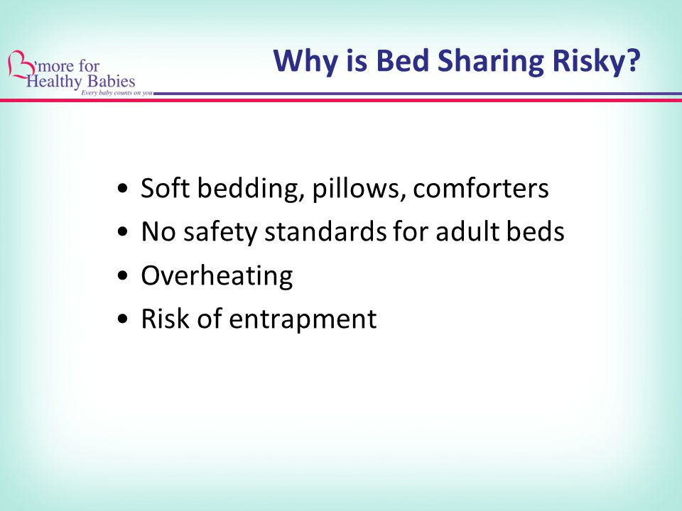 Why is Bed Sharing Risky