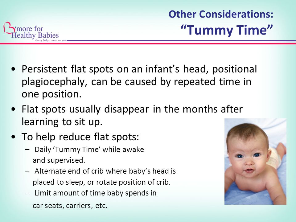 Other Considerations: Tummy Time