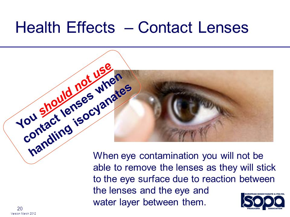 Health Effects – Contact Lenses