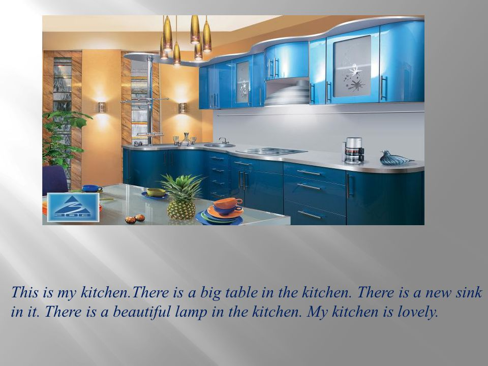 This is my kitchen. There is a big table in the kitchen