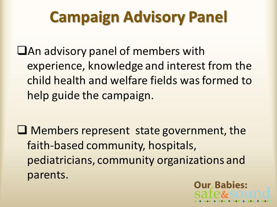Campaign Advisory Panel