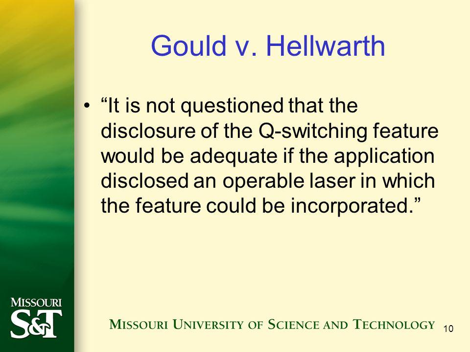 Gould v. Hellwarth