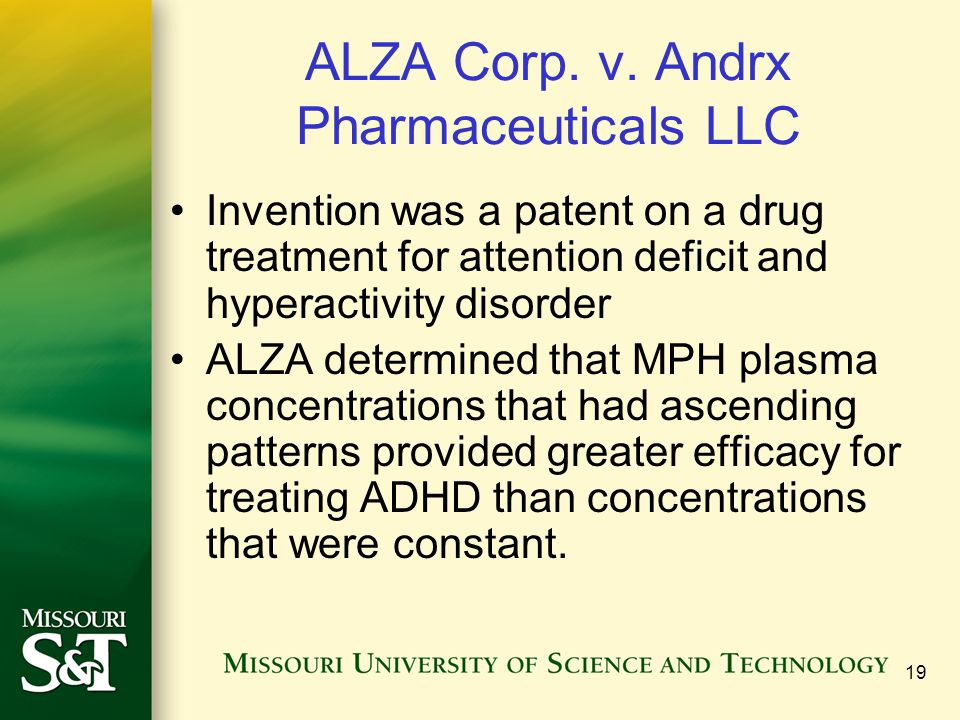 ALZA Corp. v. Andrx Pharmaceuticals LLC