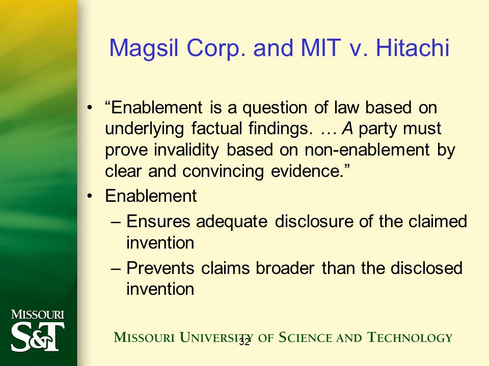 Magsil Corp. and MIT v. Hitachi