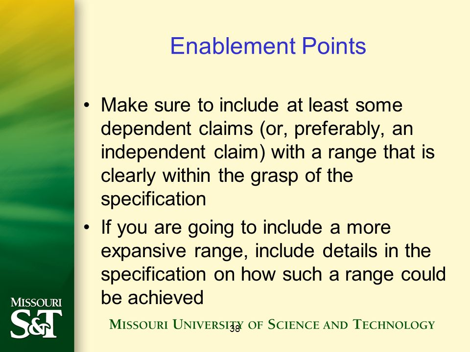 Enablement Points