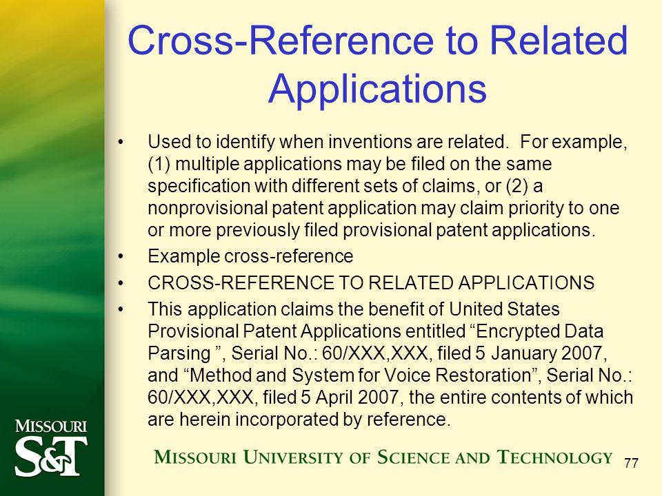 Cross-Reference to Related Applications