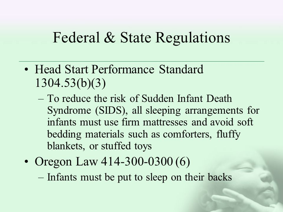 Federal & State Regulations