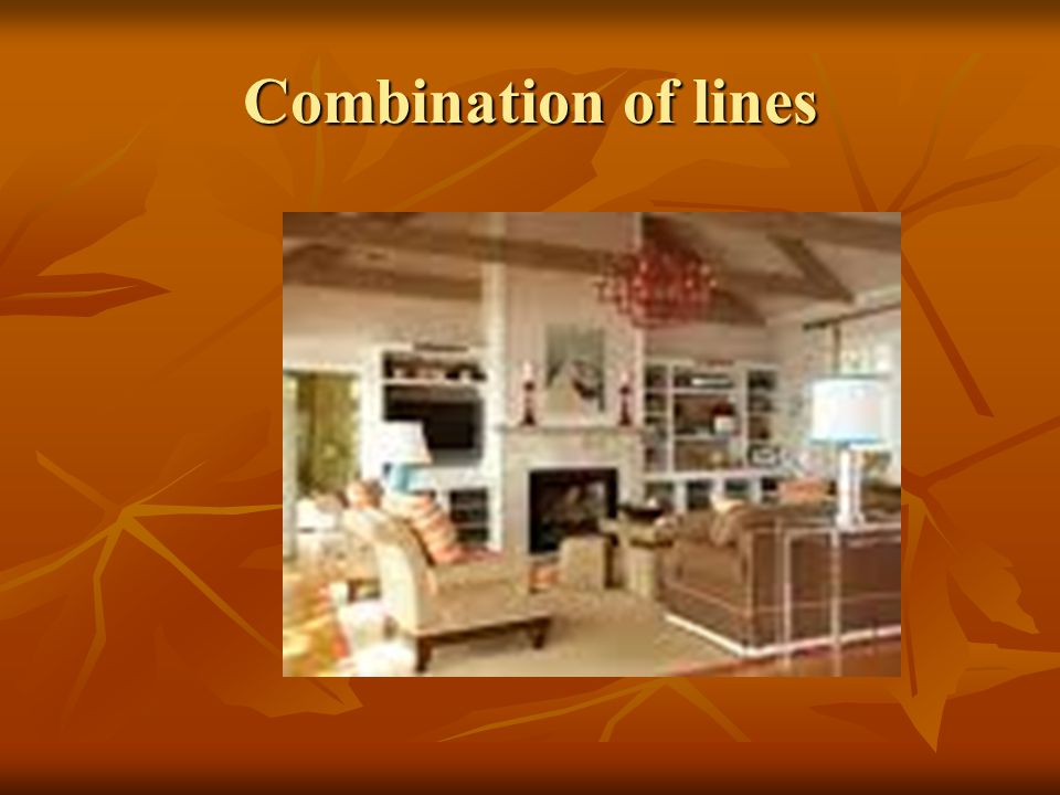 Combination of lines