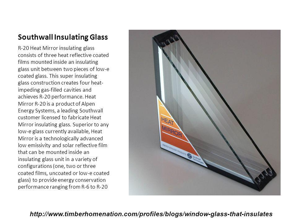 Southwall Insulating Glass