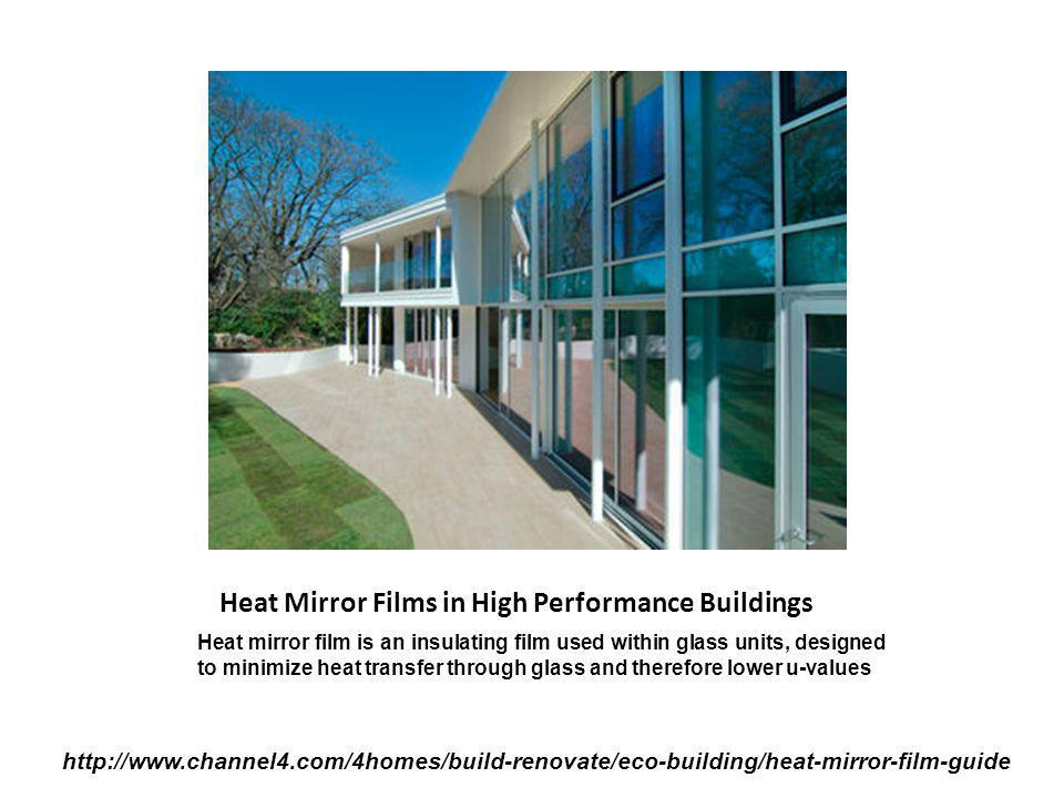 Heat Mirror Films in High Performance Buildings