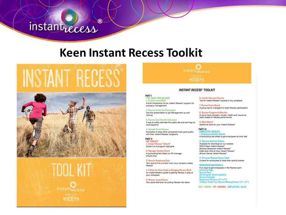 Keen Instant Recess Toolkit