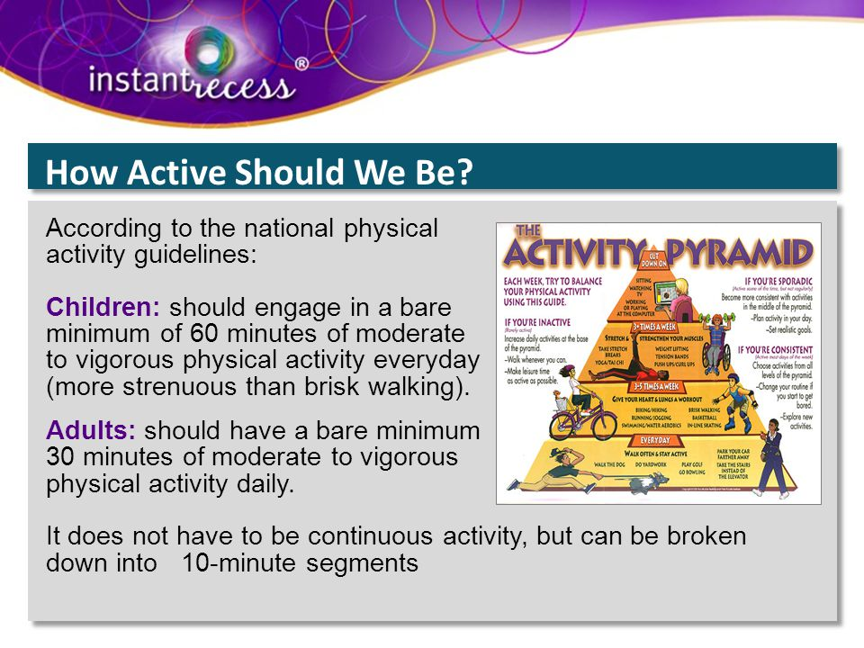 national physical activity guidelines pdf