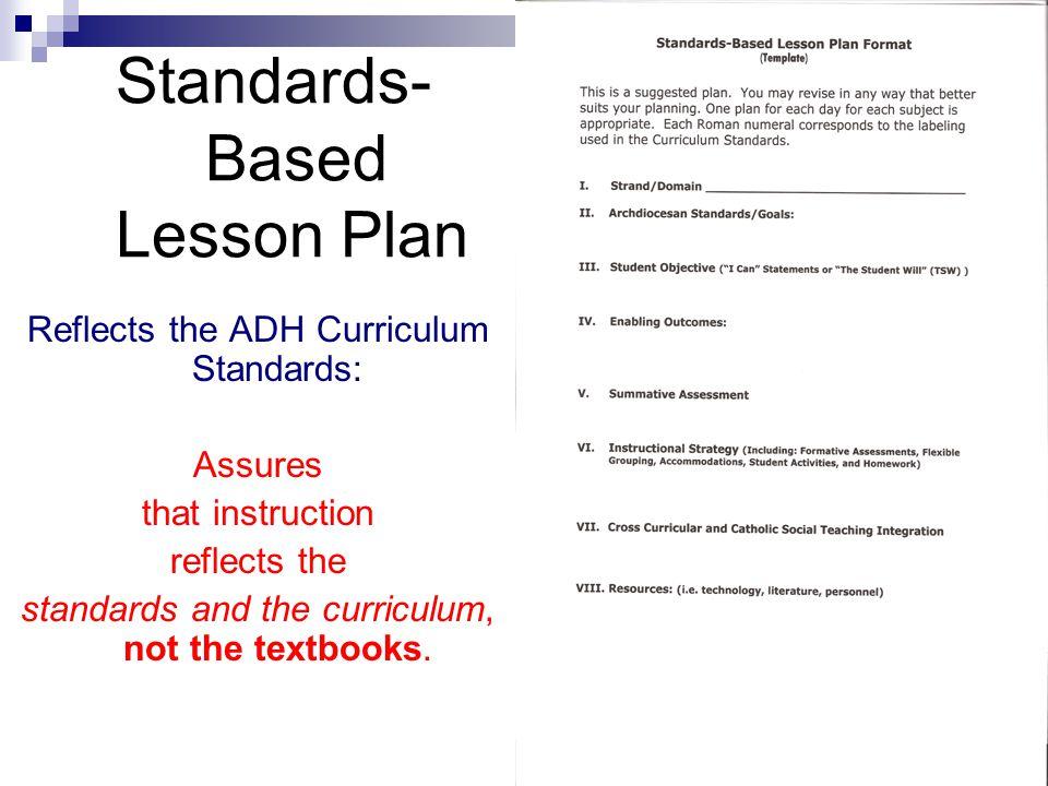 Standards- Based Lesson Plan
