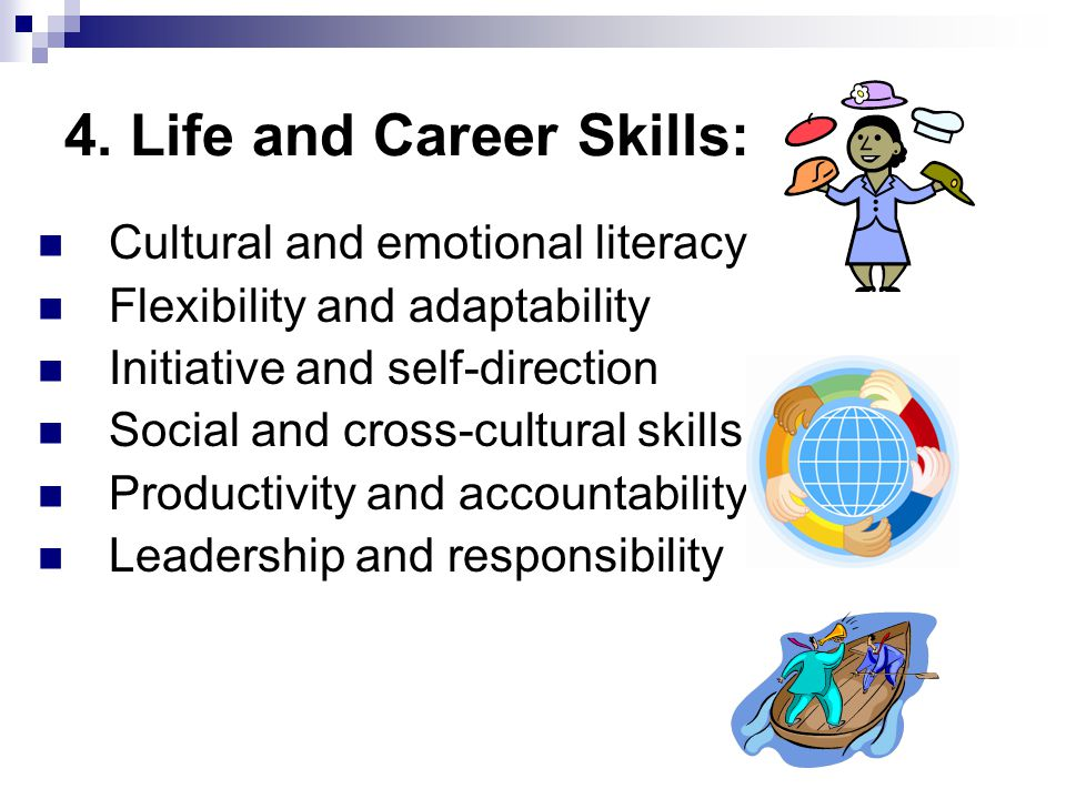 4. Life and Career Skills: