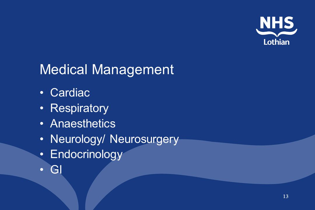 Medical Management Cardiac Respiratory Anaesthetics