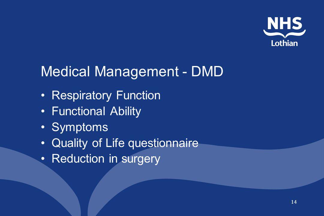 Medical Management - DMD