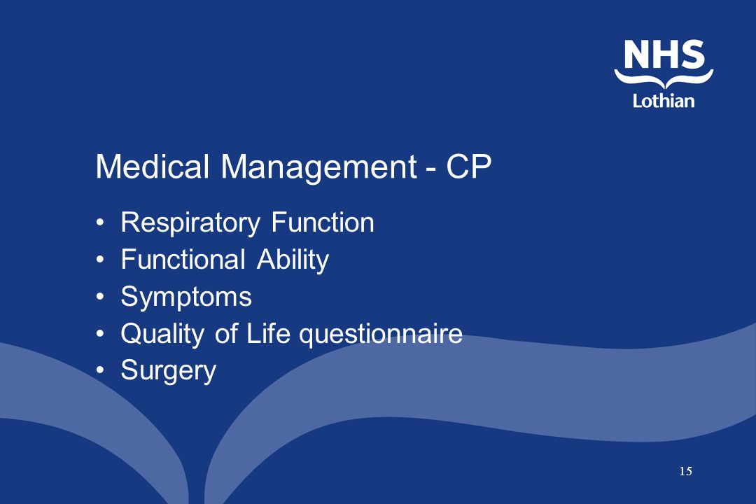 Medical Management - CP