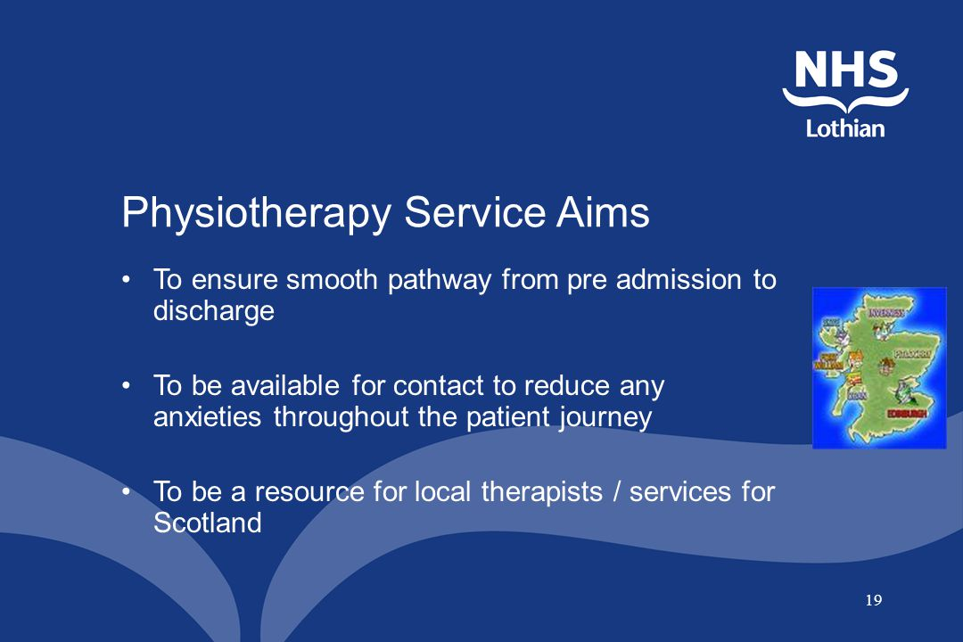 Physiotherapy Service Aims