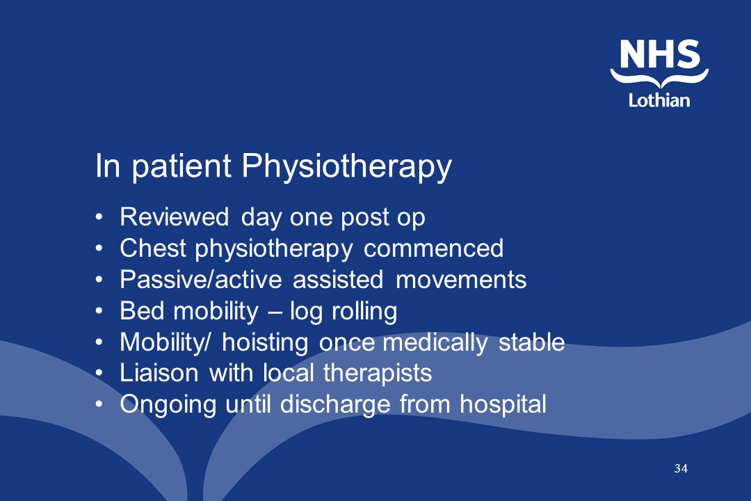 In patient Physiotherapy