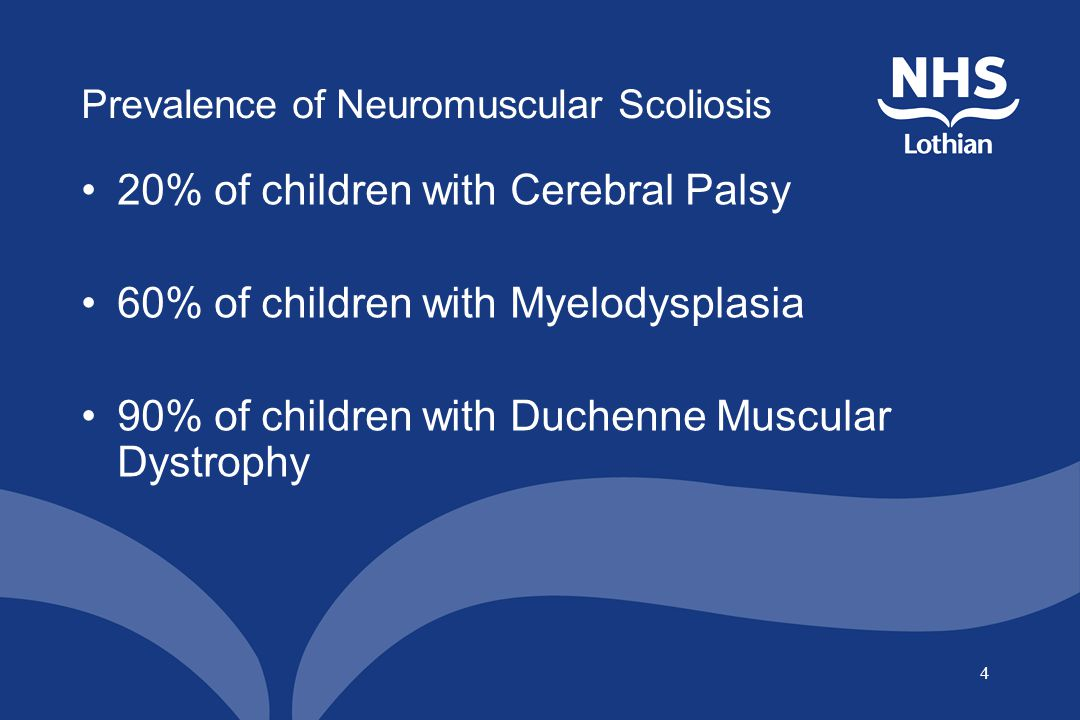 Prevalence of Neuromuscular Scoliosis