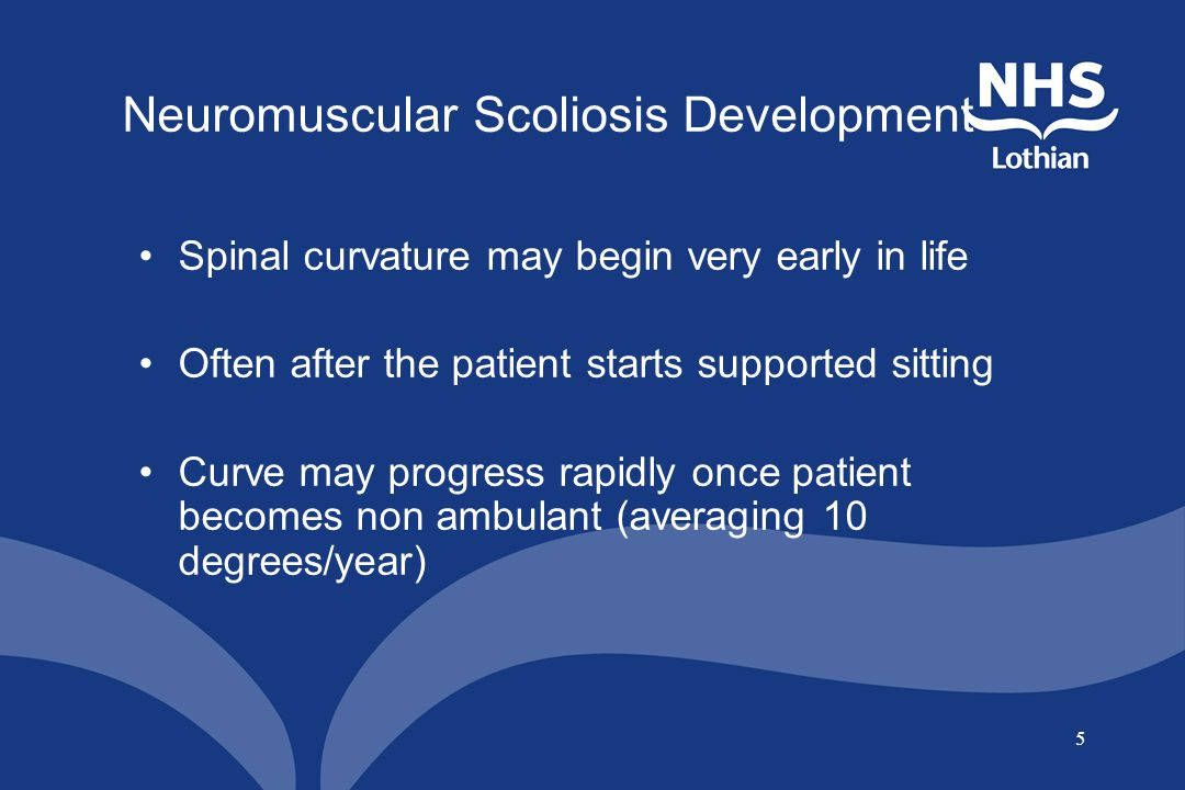 Neuromuscular Scoliosis Development