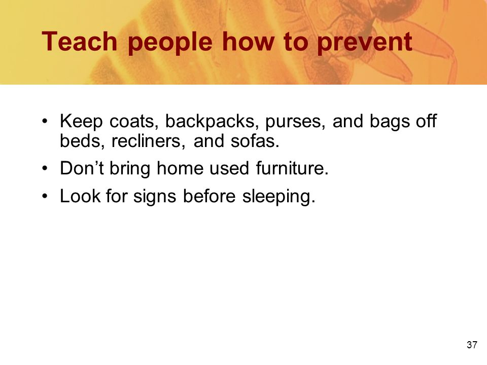 Teach people how to prevent