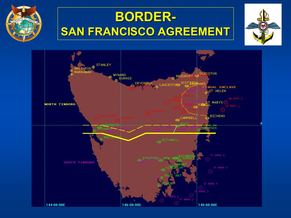 SAN FRANCISCO AGREEMENT
