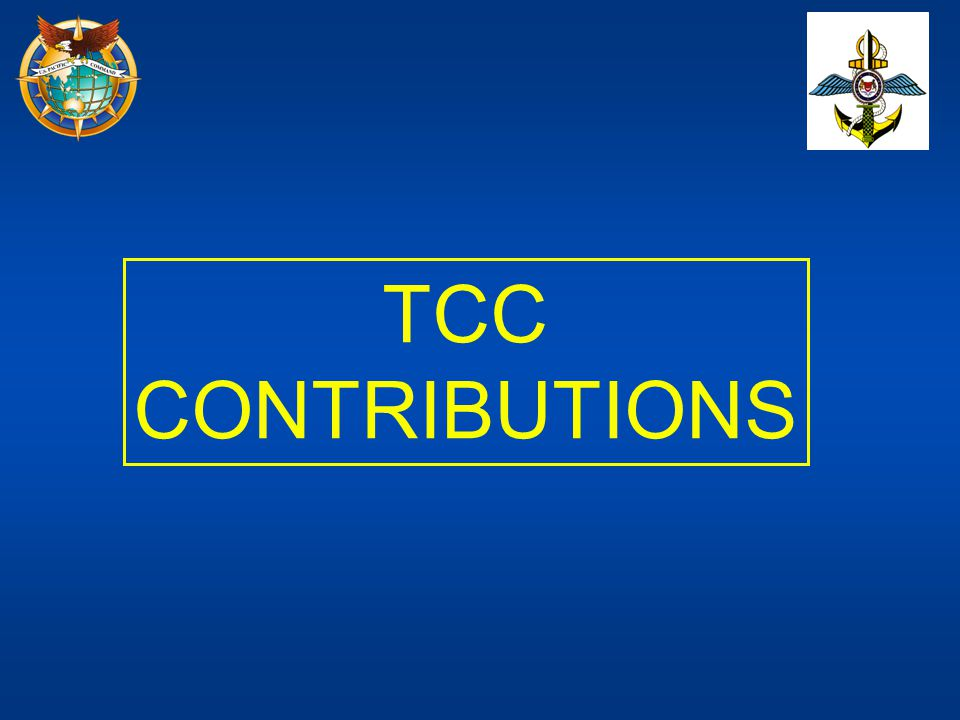 TCC CONTRIBUTIONS.