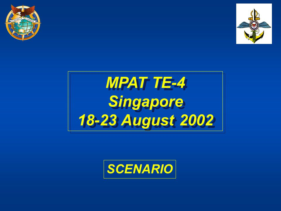 MPAT TE-4 Singapore 18-23 August 2002