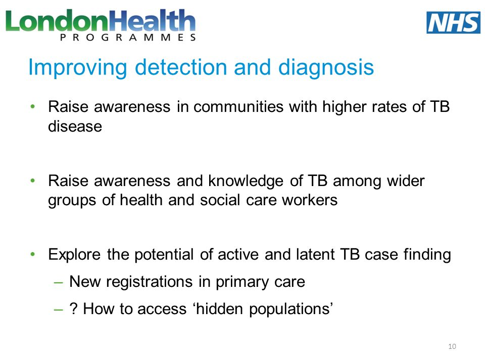 Improving detection and diagnosis