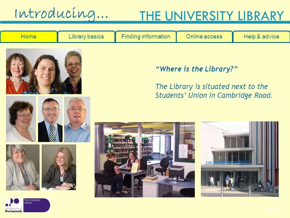 Introducing… Where is the Library