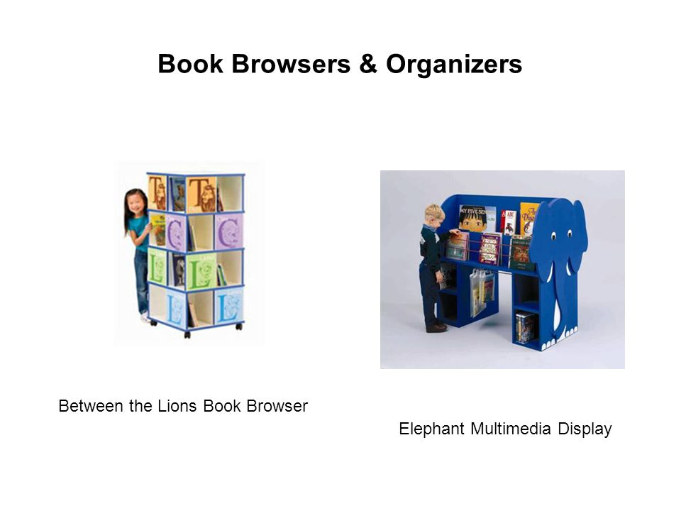 Book Browsers & Organizers