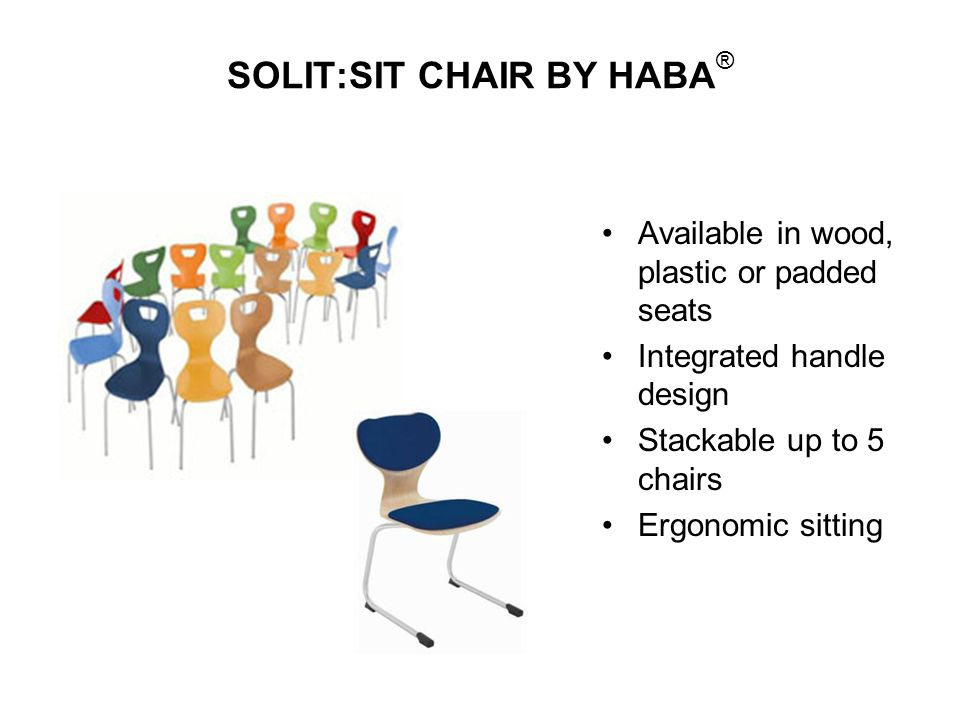 SOLIT:SIT CHAIR BY HABA®