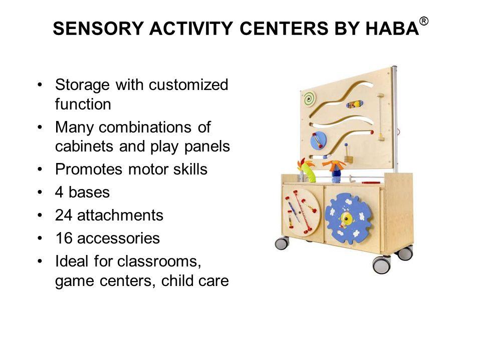 SENSORY ACTIVITY CENTERS BY HABA®