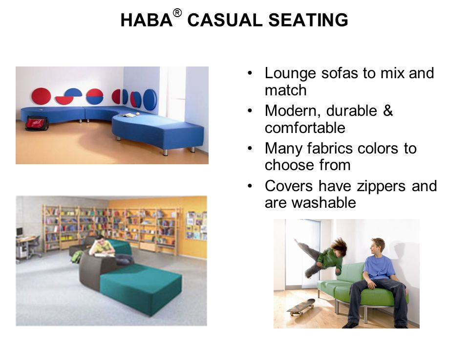 HABA® CASUAL SEATING Lounge sofas to mix and match