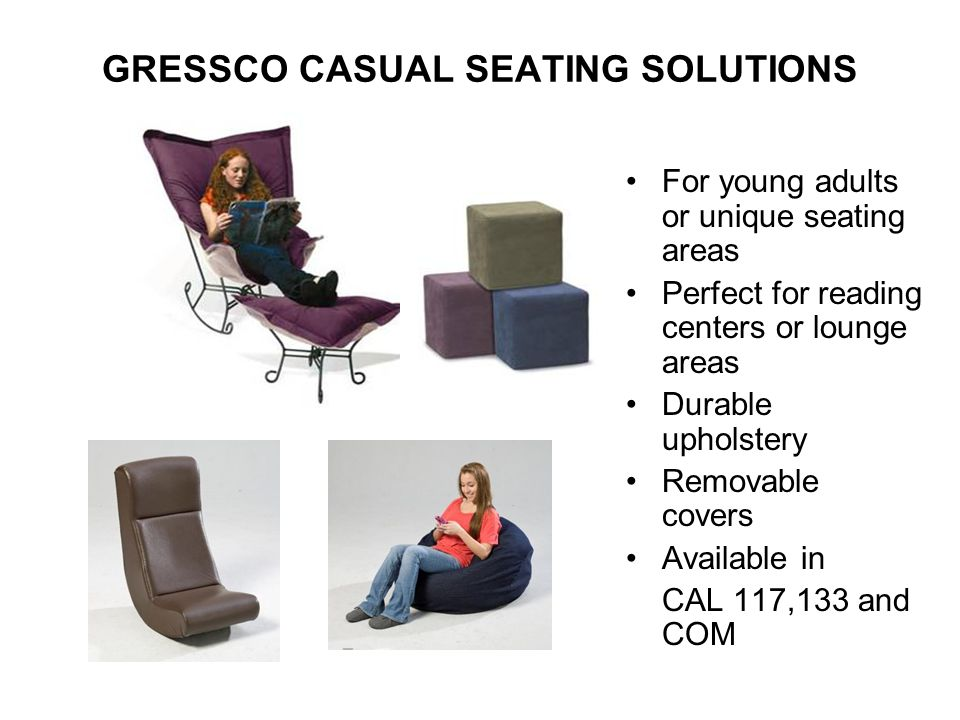 GRESSCO CASUAL SEATING SOLUTIONS
