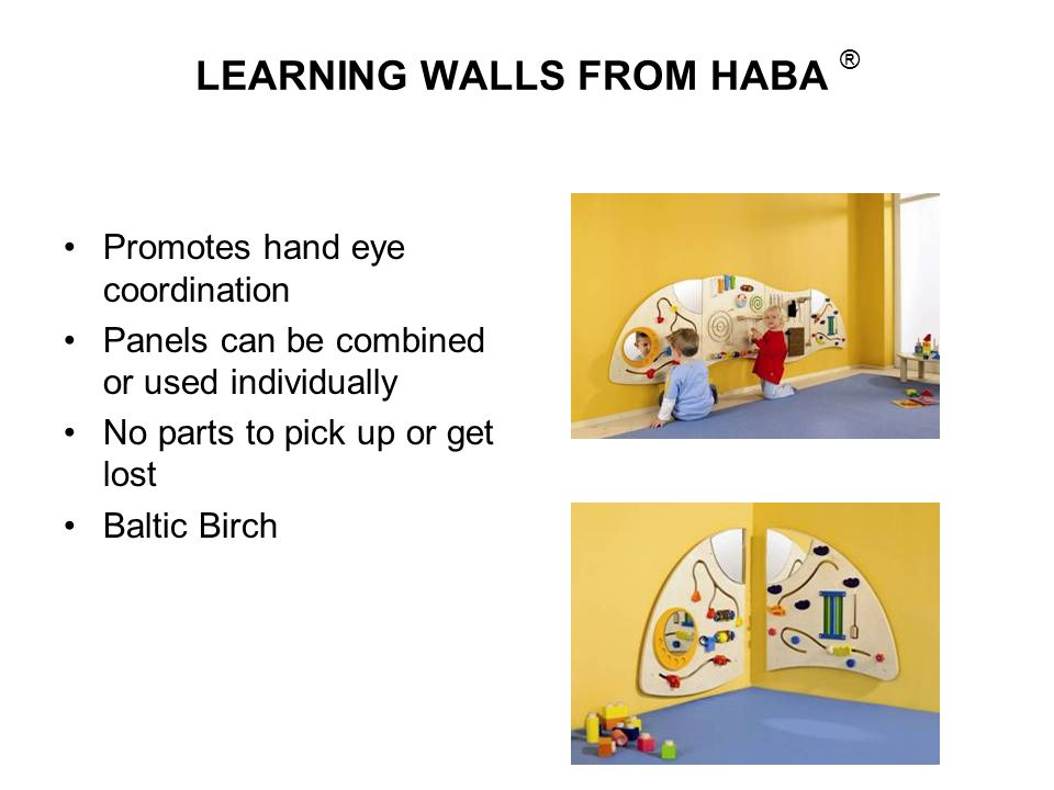 LEARNING WALLS FROM HABA ®