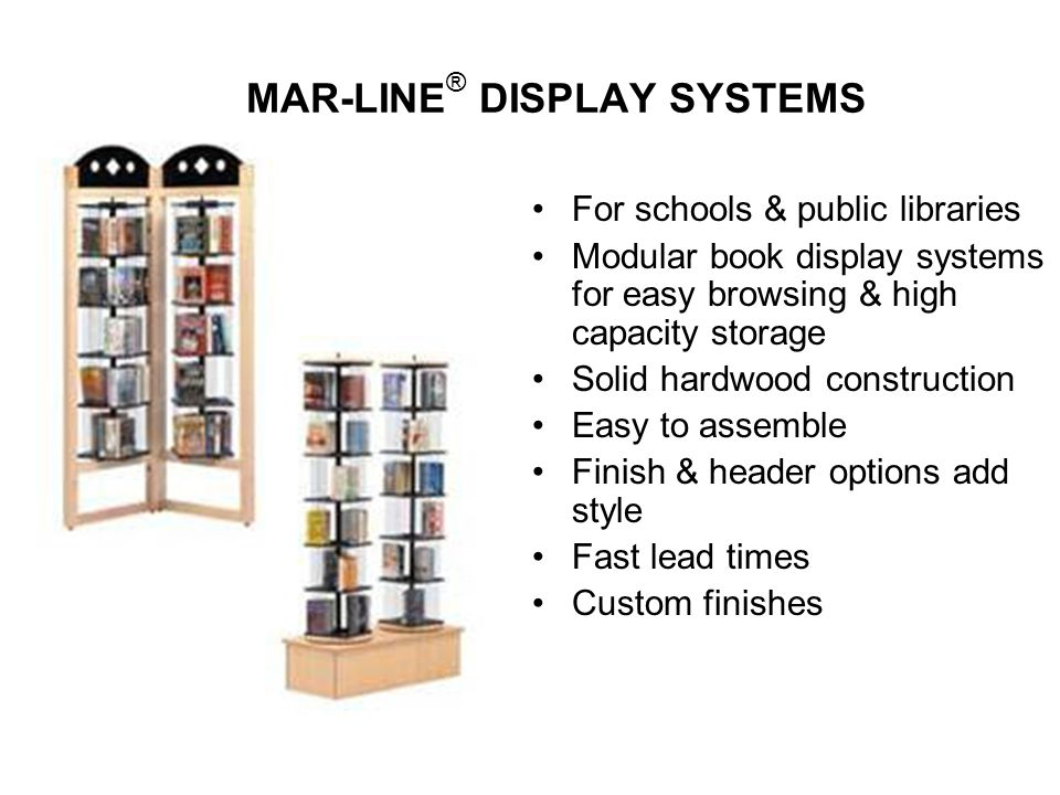 MAR-LINE® DISPLAY SYSTEMS